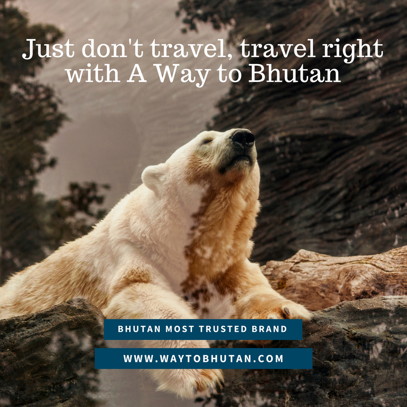 Just don't travel, travel right with A Way to Bhutan