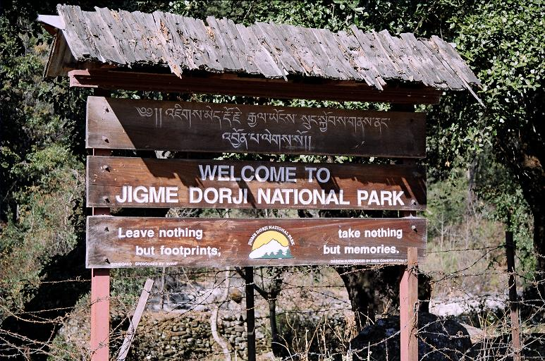 Jigme Singye Wangchuck National Park