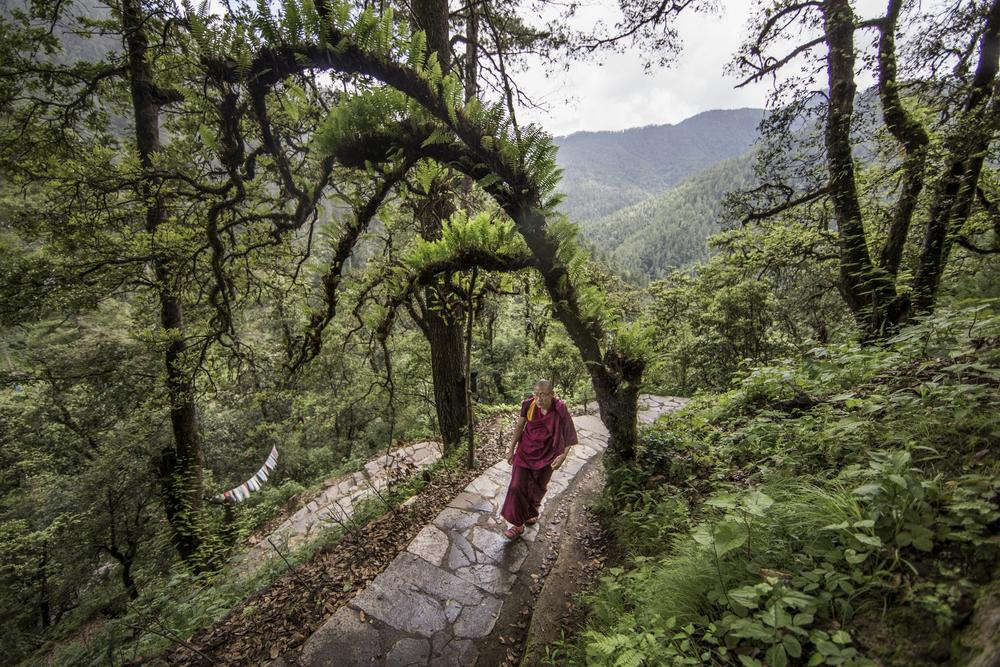 AS BHUTAN'S FORTUNES RISE, ITS NATURAL AND CULTURAL HERITAGE REST IN THE BALANCE.
