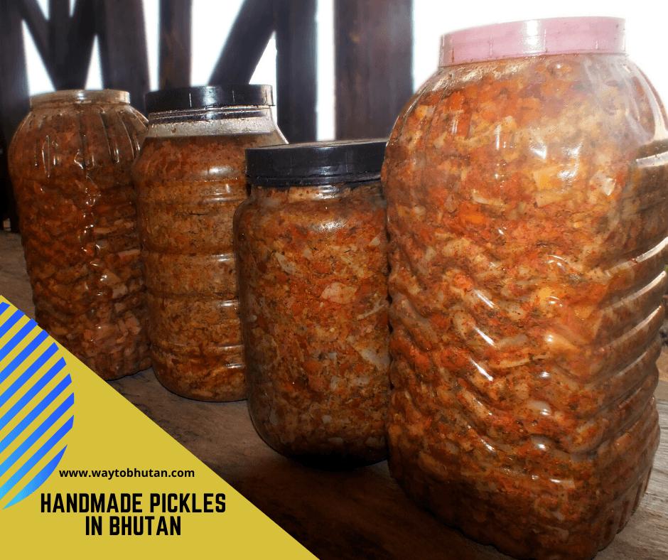 Bhutanese pickle