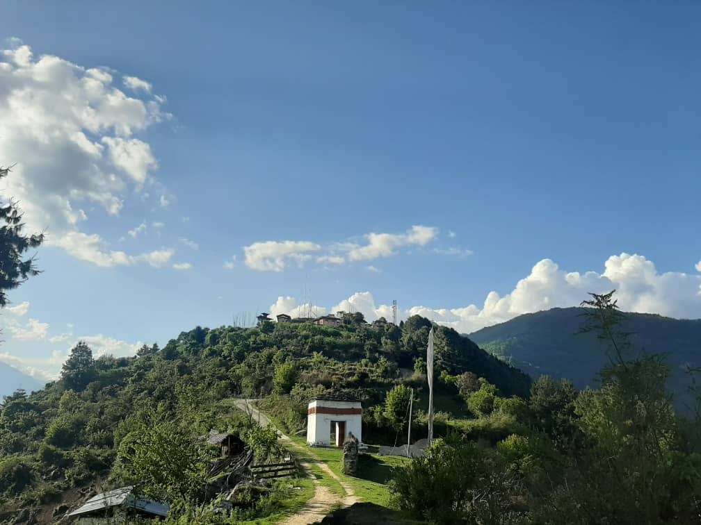 Lhasey Tsangma- A Heritage In Ruins. 836 AD