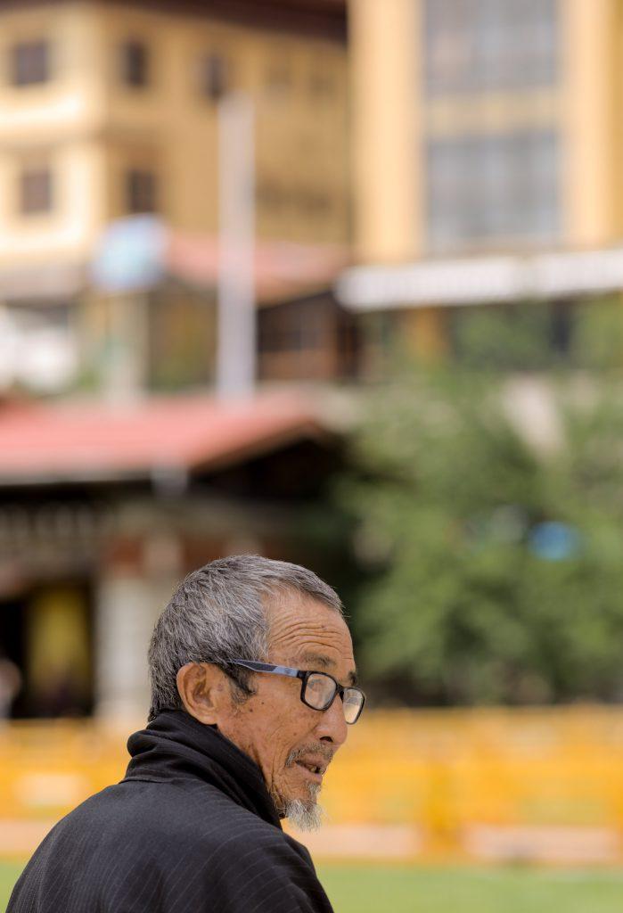 Elderly Citizen of Bhutan
